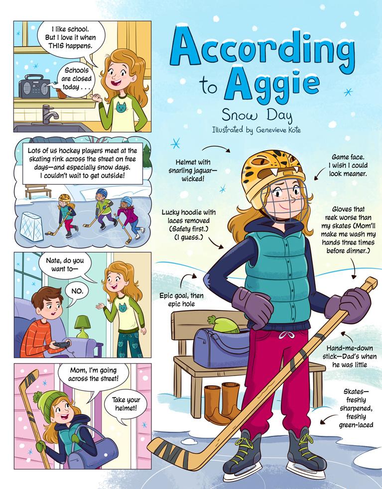according to aggie comics genevieve kote illustration